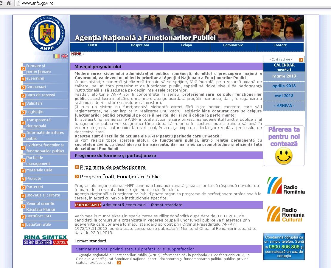 Agentia Nationala a Functionarilor Publici